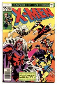 X-Men #104 1977 -MAGNETO COVER Cockrum cover VF-