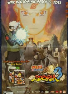 NARUTO SHIPPUDEN Promo Poster, 11 x 17, 2013 Unused more in our store 578