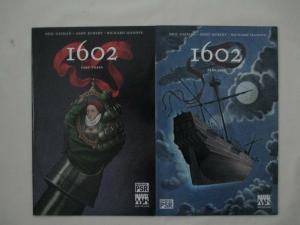 MARVEL 1602 - COMPLETE MINI-SERIES - #1, 2, 3, 4, 5, 6, 7, 8 - Gaiman (SANDMAN)