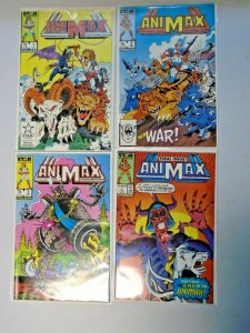 Animax Star Comics Set #1-4 8.0 VF (1986)