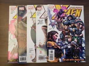 Uncanny X-Men She Lies With Angels (#437-441) (Marvel 2004) | Chuck Austen