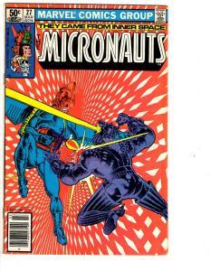 4 Marvel Comics Micronauts #27 Deathlok #25 Guardians Galaxy #12 Namor #13 JB3