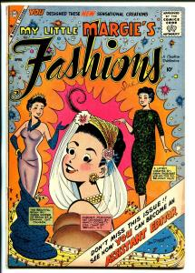 My Little Margie's Fashions #2 1959-Charlton-TV series-pin-up style art-VG-