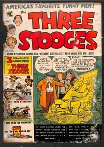 The Three Stooges #1 Very Low Grade