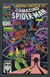 Amazing Spiderman #334 / 9.4 NM+  July 1990