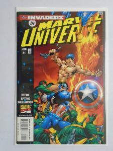 Marvel Universe #1, VF , DIRECT EDITION (1998)