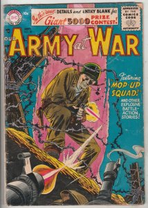 Our Army at War #50 (Sep-56) FR/GD Low-Grade
