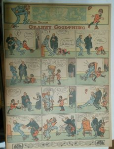 Granny Goodthing Sunday Page by Follett  from 5/1/1910 Full Page Size!