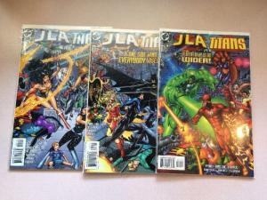 JLA The Titans 1-3 complete Near Mint Lot Set Run