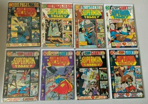 Superman Family lot from:#167-200 all 23 diff books avg 4.0 VG (1974 to 1980)