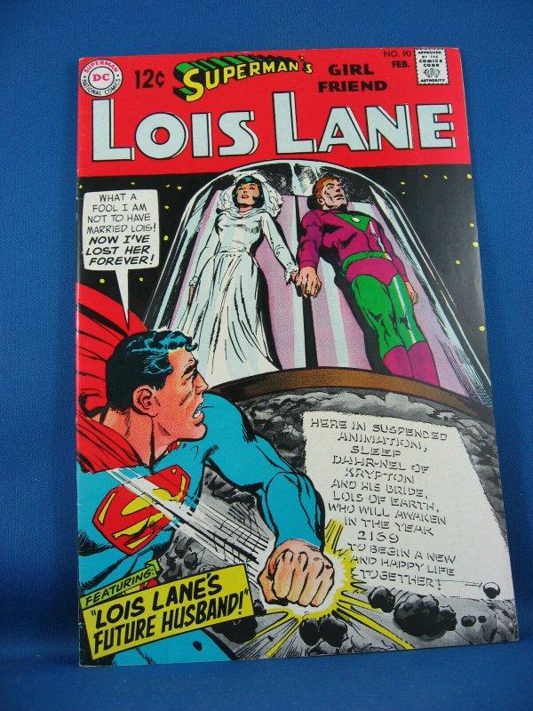 Superman Girl Friend LOIS LANE 90 VF+  1969