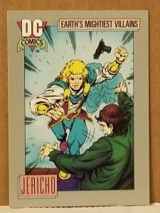 1991 DC Cosmic Card #98 Jericho
