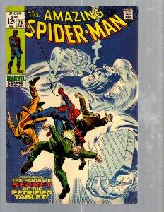 Amazing Spider-Man # 74 VF- Marvel Comic Book MJ Vulture Goblin Scorpion TJ1