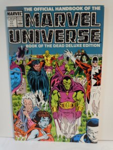 Official Handbook of the Marvel Universe #17