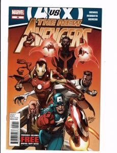 Lot Of 2 New Avengers Marvel Comic Books # 29 34 Iron Man Hulk Thor Wasp J120