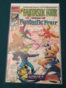 Fantastic Four #374 vs The New Fantastic Four