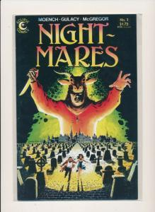 Eclipse Comic  Moench/Gulacy/McGregor NIGHT-MARES #1 VF (PF729)