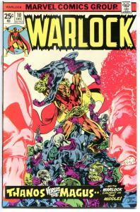WARLOCK #10, VF+, Power of, Jim Starlin, Thanos origin, 1972, Bronze age, Gamora