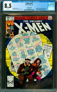 X-Men #141 CGC Graded 8.5 1st app. Rachel (Phoenix II), Avalanche, Destiny, P...