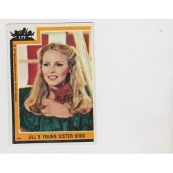 1977 Topps Charlie's Angels JILL'S YOUNG SISTER KRIS! #177