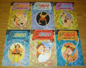 Sergio Aragones' the Groo Chronicles #1-6 VF/NM complete series - epic comics