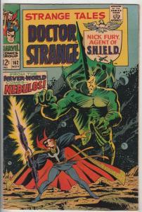 Strange Tales #162 (Nov-67) NM- High-Grade Nick Fury, Dr. Strange