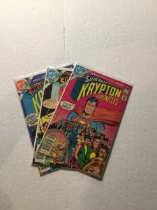 Superman Krypton Chronicles 1-3 Fine Fn 6.0 Complete Ik