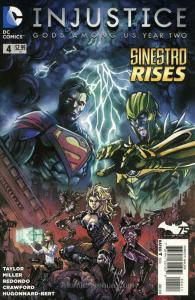 Injustice Year Two #4 VF; DC   save on shipping - details inside