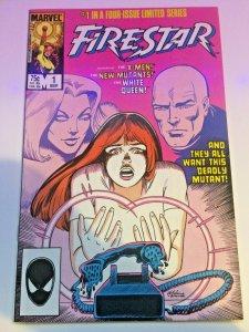Firestar #1 1986 X-Men New Mutants White Queen Marvel Superheroes