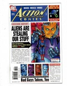 12 Action Comics Comics #842 843 844 845 846 847 848 849 850 851 852 853 GK44