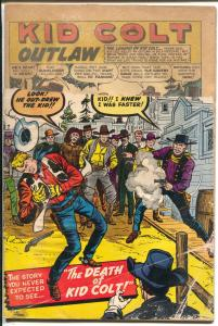 Kid Colt Outlaw-#91-1960-Marvel-Jack Kirby cover-Kid Colt Death-P
