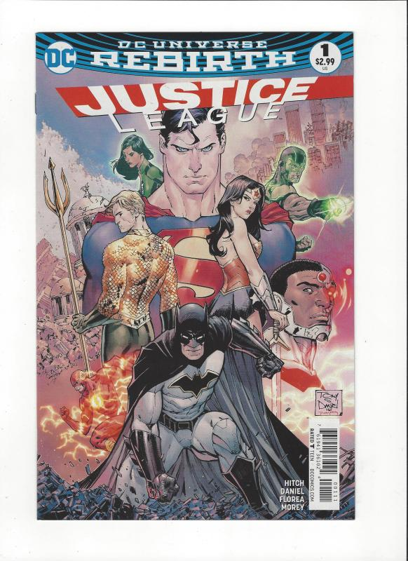Justice League #1 DC Universe Rebirth NM