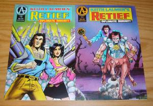 Keith Laumer's Retief: Diplomatic Immunity #1-2 VF/NM complete series - set lot