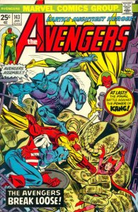 AVENGERS #143 (NG) stock photo