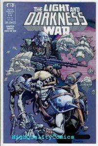 LIGHT & DARKNESS WAR #1, NM+, Epic, Tom Veitch, Huey, Guns, 1988