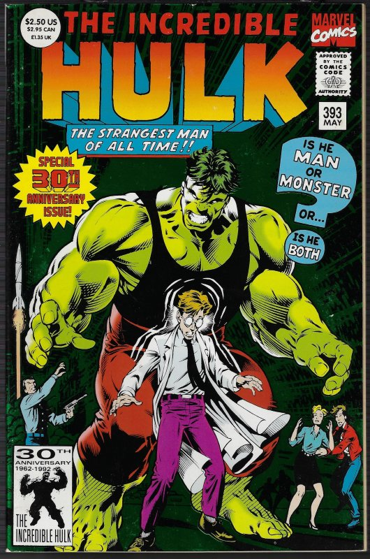 Incredible Hulk #393 (Marvel, 1992) NM