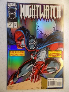 NIGHTWATCH # 1 MARVEL FOIL COVER SPIDER-MAN ACTION ADVENTURE