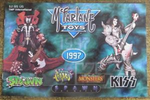 McFARLANE TOYS 1997 PROMO CATALOG! KISS, Spawn, Total Chaos, Monsters
