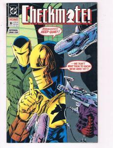 Checkmate #30 VF DC Comics Comic Book Kupperberg DE22