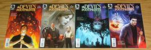 the Devil's Footprints #1-4 VF/NM complete series - dark horse comics horror 2 3