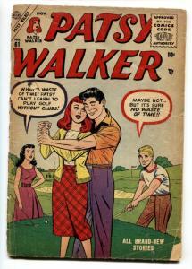 Patsy Walker #61 1955- Golf cover- Atlas paper dolls FR