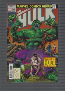 The Immortal Hulk #47 Variant