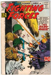Our Fighting Forces #73 (Jan-63) FN/VF Mid-High-Grade Gunner and Sarge, Pooch