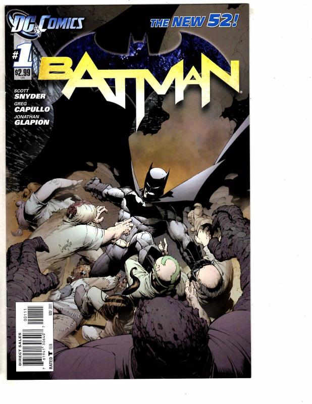 Batman # 1 NM 1st Print DC NEW 52 Comic Book Scott Snyder Court Of Owls HOT LH3