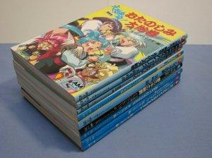 AM JUJU COMICS LOT 9 COMIC BOOKS ANIMATION GIRL RARE JAPANESE TEXT L@@K