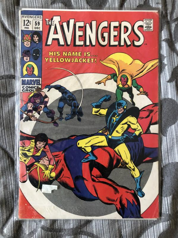 First Yellowjacket avengers 59