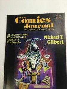 The Comics Journal No.84 Magazine Very Fine Vf 8.0 Fantagraphics
