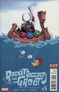 Rocket Raccoon & Groot #5 FN; Marvel | save on shipping - details inside