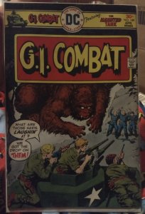 G.I. Combat #189 Featuring The Haunted Tank FN/VF