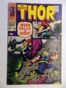 THE MIGHTY THOR # 149 MARVEL GODS JOURNEY ACTION ADVENTURE